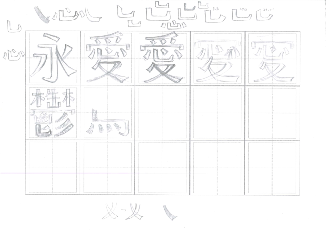 Creating a Chinese Font