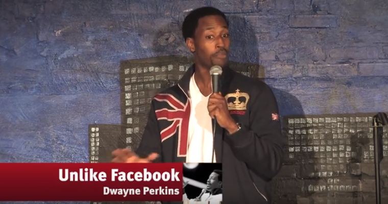 Unlike Facebook – Dwayne Perkins