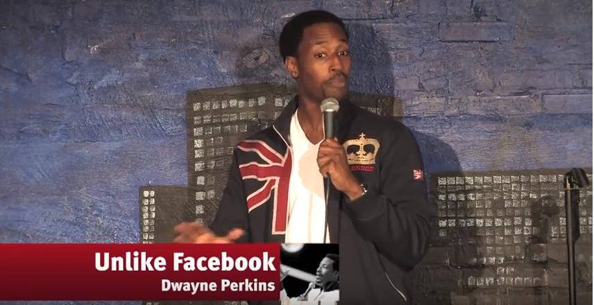 Unlike Facebook – Dwayne Perkins