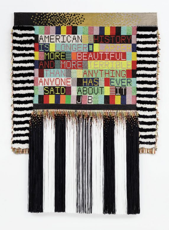 DAM's Jeffrey Gibson exhibit takes a powerful swing at Native American invisibility