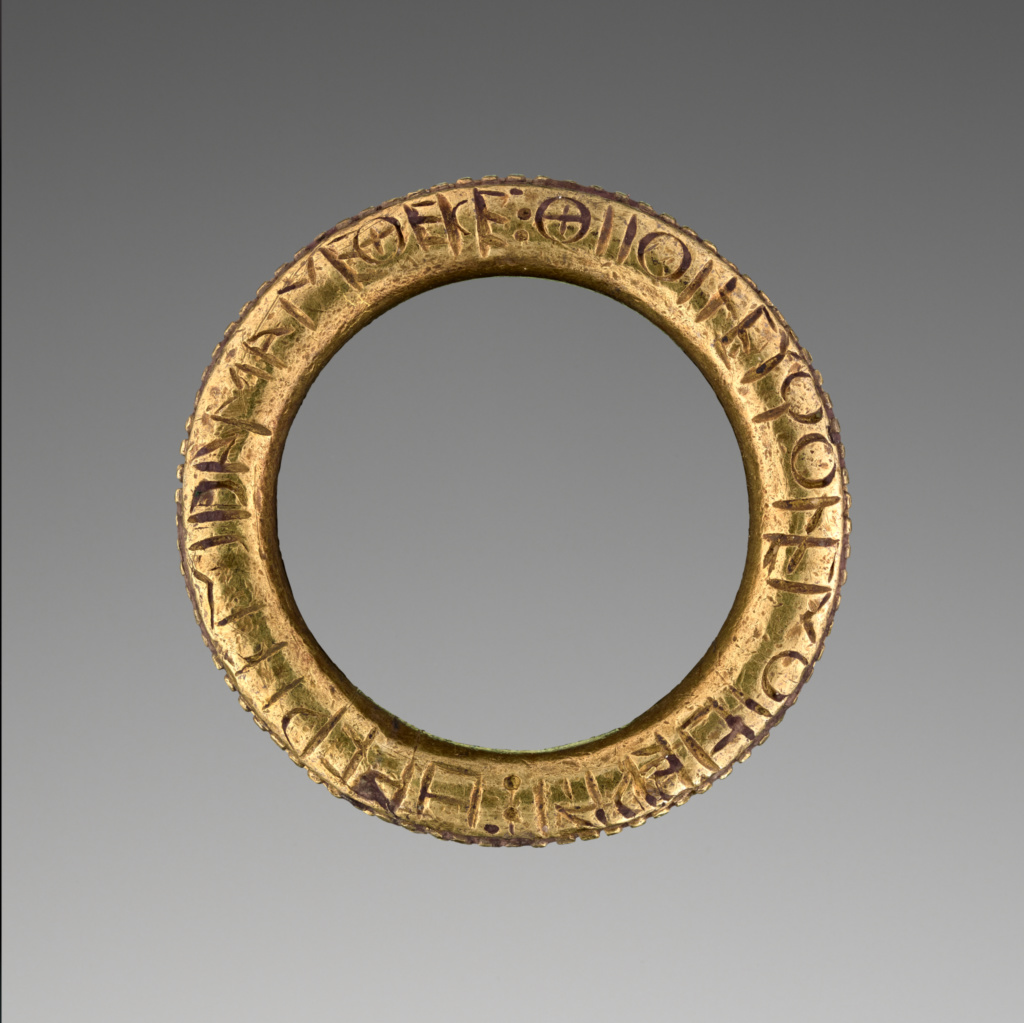Ring dedicated to goddess white-armed Hera