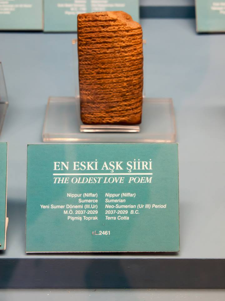 The Oldest Love Poem.