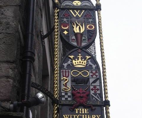The Witchery by the Castle restaurant, Edinburgh, Scotland