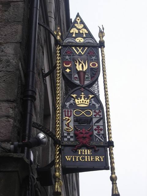 The Witchery by the Castle restaurant, Edinburgh, Scotland