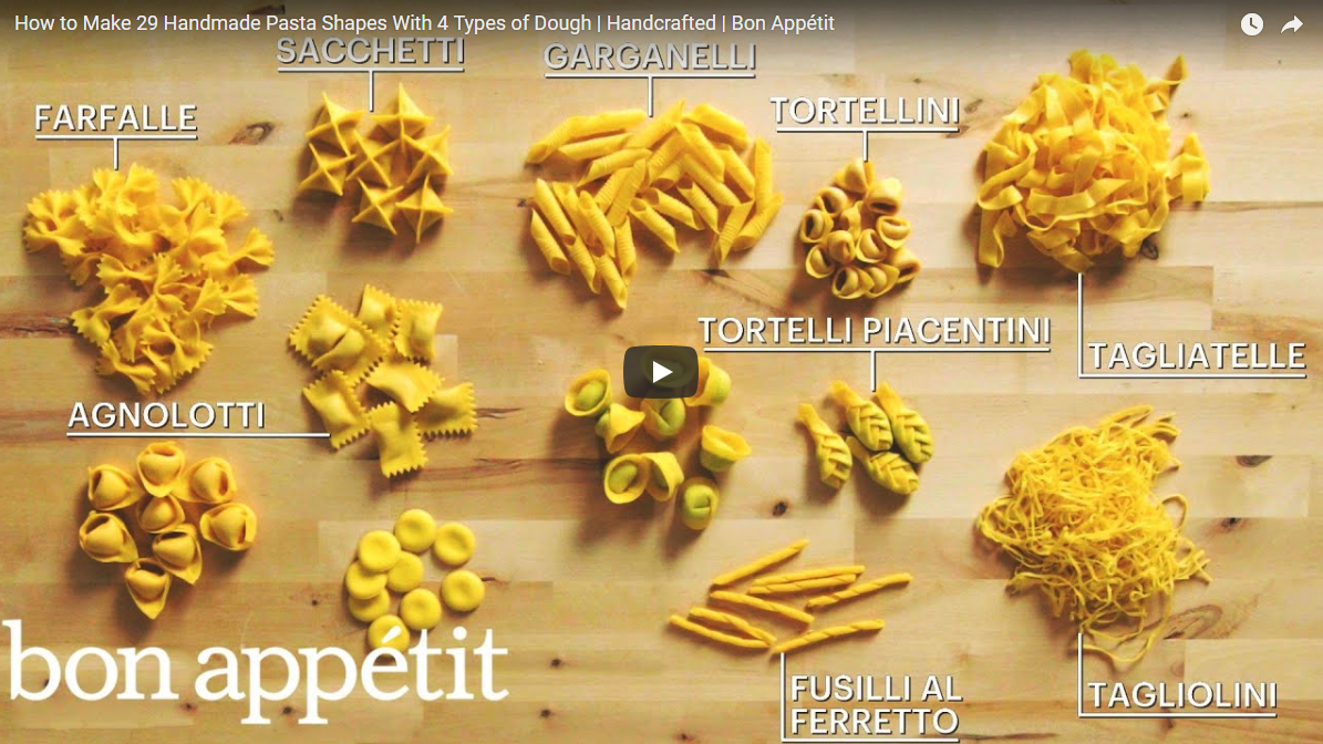 29 Amazing Handmade Pasta by Luca D'Onofrio